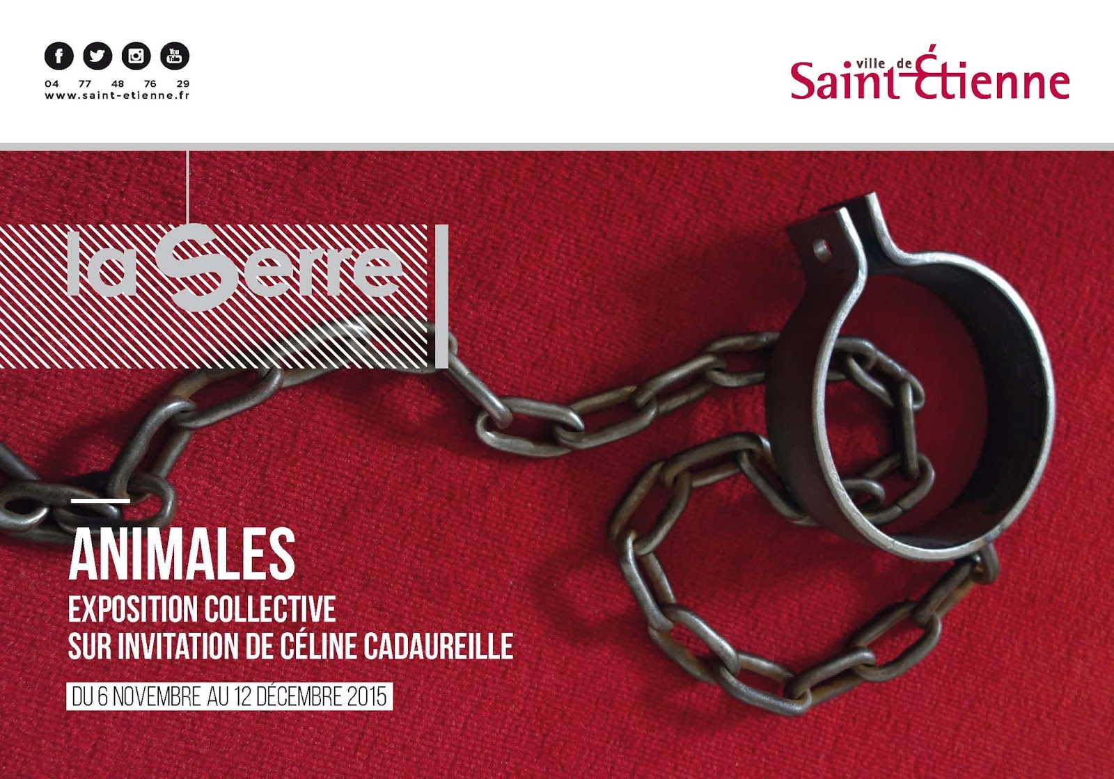 Animales - Exposition collective - La Serre de Saint-Etienne