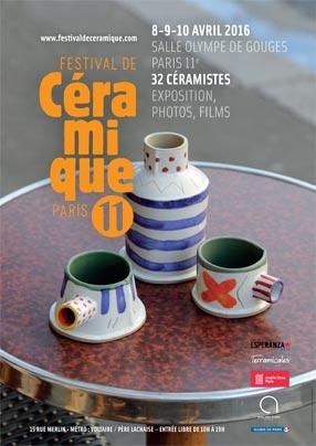 Affiche Festival de Céramique de Paris 11e