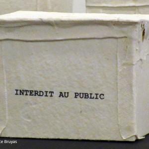 Espace intérieur : Papier porcelaine, chromo 12 x 10 cm