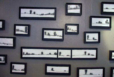 Paysage d'hiver : installation
