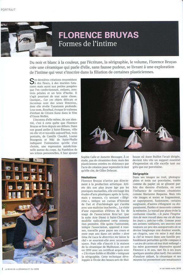 La revue de la céramique et du verre - n°207 - Page 1