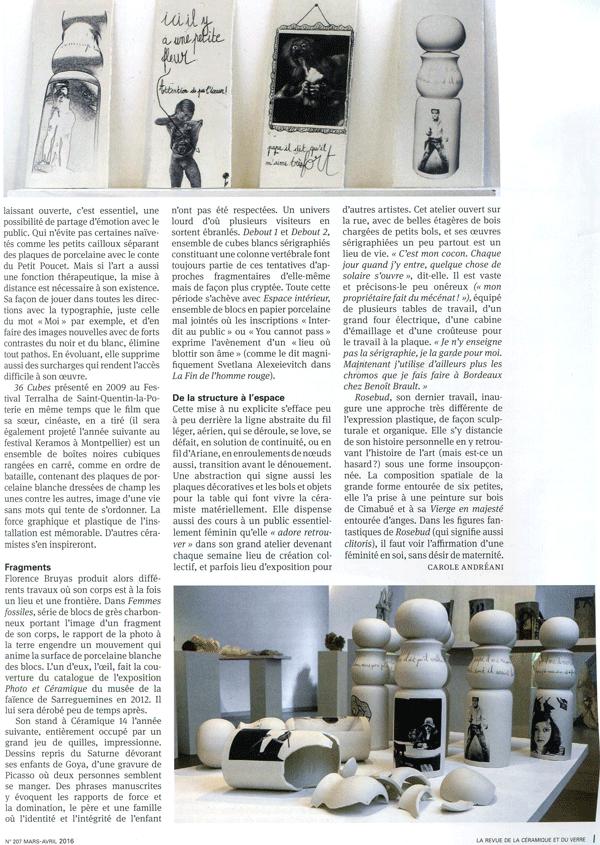 La revue de la céramique et du verre - n°207 - Page 2