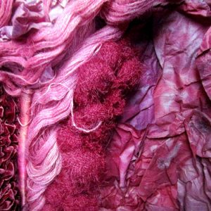 The mortal tiredness of living – Détail textile