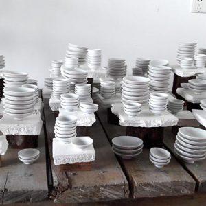Installation porcelaine – 1