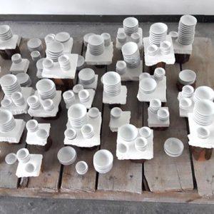 Installation porcelaine – 2