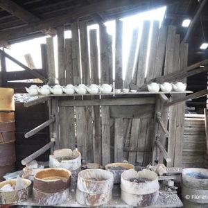 gasettes et théières – saggars and stoneware