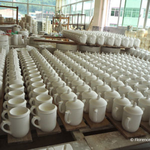 Mugs porcelaine – Dehua – Chine – Porcelain Mugs – Dehua, China